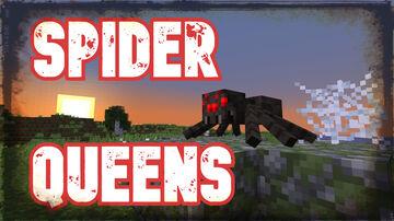 Spider Queens (Version 0.4) | True Survival Minecraft Datapack Minecraft Data Pack
