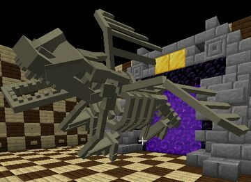 Dragon Skeleton Minecraft Data Pack