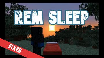REM Sleep  (Bonus Effects From Sleeping) | True Survival Datapack Minecraft Data Pack