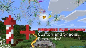 Fireworks+ - More Types of Fireworks Minecraft Data Pack