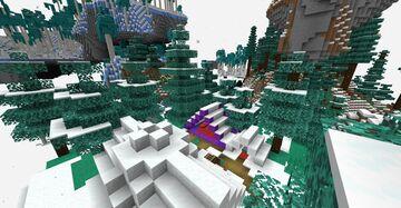 Crystashia, Frozen Skies Minecraft Data Pack