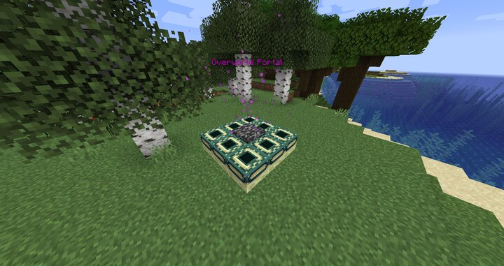 Portal in the mining dimension