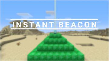 Instant Beacon Minecraft Data Pack