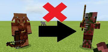 No Zombification Minecraft Data Pack