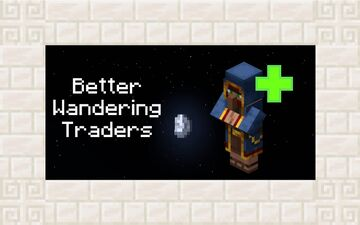 Better Wandering Traders - Biome and Dimension specfic trades! Minecraft Data Pack