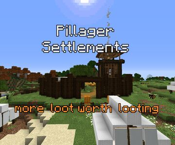 Pillager Settlements Minecraft Data Pack