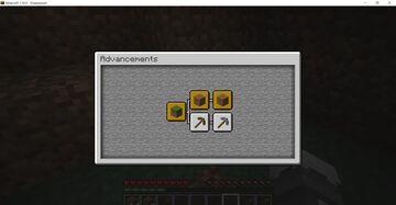 a working dirt advancement Minecraft Data Pack