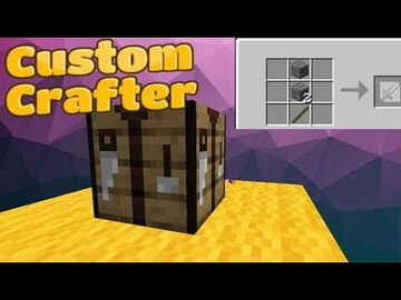 Custom Ender-Crafter [Map Maker's Toolbox] Minecraft Data Pack