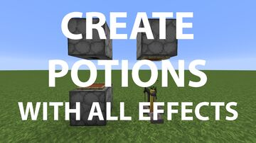 Custom Potion (Better Alchemy) 1.4v Minecraft Data Pack