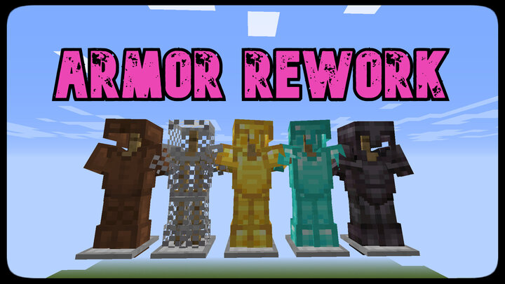 Reworked armor buffs!