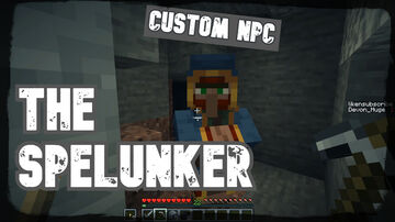 The Spelunker, (CAVE UPDATE) | True Survival Minecraft Data Pack