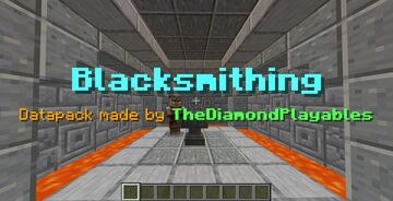 """Blacksmithing[1.15x] - Remove """"Too Expensive"""" from Anvils! Minecraft Data Pack"""