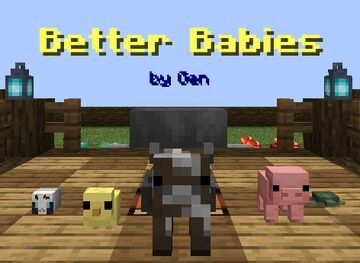 "Gen's ""Better Babies"" Datapack Minecraft Data Pack"