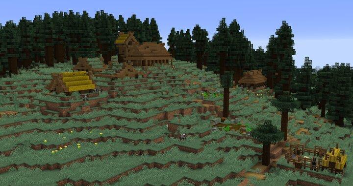 Taiga village
