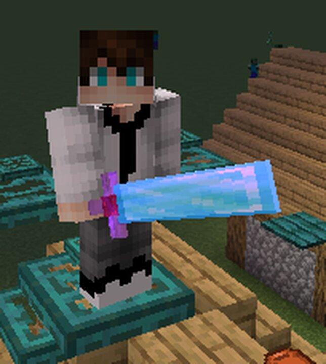 Enchanted Diamond Sword Big
