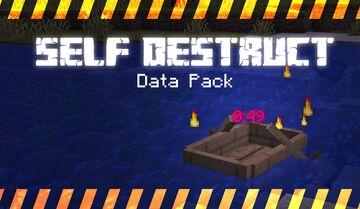 [1.15] Self-Destruct Data Pack Minecraft Data Pack