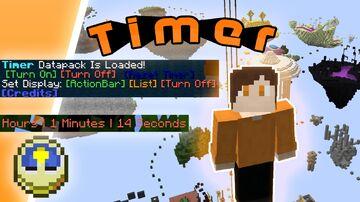 Timer Minecraft Data Pack