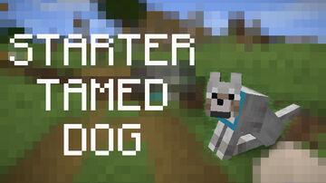 Starter Dog Minecraft Data Pack