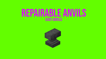 Easy Anvils (Repairable Anvils) Minecraft Data Pack