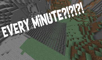 Minecraft but anvils fall every minute Minecraft Data Pack
