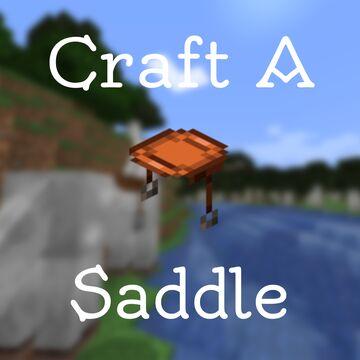 Craftable Saddle Minecraft Data Pack
