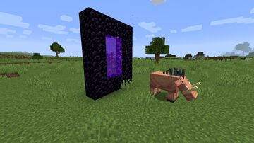 Hoglins remain Hoglins Minecraft Data Pack