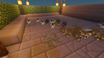 Rats from A Plaque Tale Minecraft Data Pack