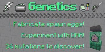 Genetics [Datapack] Minecraft Data Pack