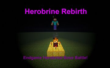 Herobrine Rebirth - Endgame Herobrine Boss Battle! Minecraft Data Pack