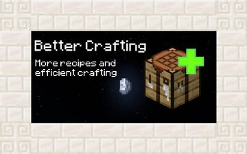 Better Crafting Minecraft Data Pack