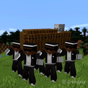 Coffin Dance datapack Minecraft Data Pack
