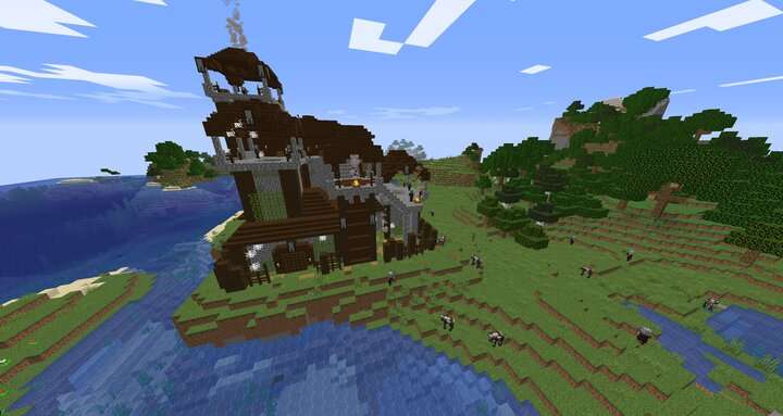 pillager castle. are you prepared for this challenge?