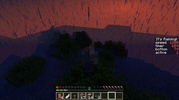 It's Raining! Minecraft Data Pack