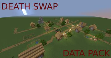 DEATH SWAP DATA PACK (EASY TO USE) Minecraft Data Pack
