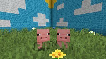 Bigger Litters Data Pack (Pigs & Rabbits) Minecraft Data Pack