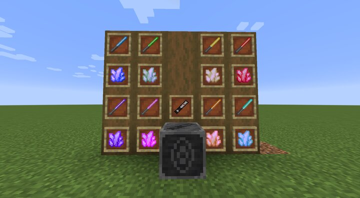 All items currently added by the pack.