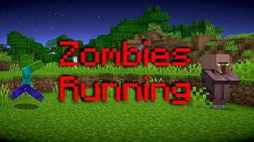 Zombies Running Minecraft Data Pack