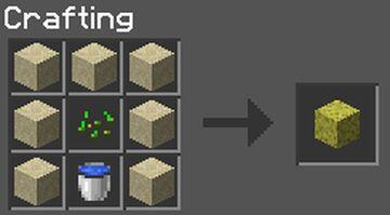 Craftable Sponge Minecraft Data Pack