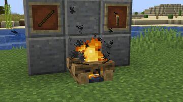 Campfire Torches Minecraft Data Pack