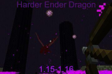 Harder Ender Dragon Minecraft Data Pack