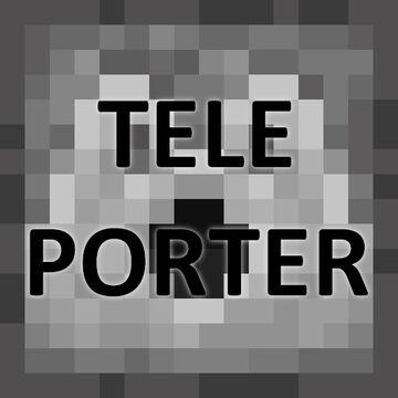 Teleporter block - Elevators, convoyer belts, jokes, ... Minecraft Data Pack