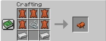 Craftable Saddles and Horse Armor Minecraft Data Pack
