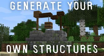 JDawgtor's Custom Structures Generator Minecraft Data Pack