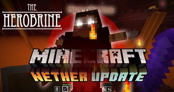 Epic Herobrine Boss Battle 1.16.x  (End Game) Minecraft Data Pack