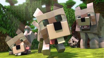 Minecraft Dog Dimension (Beta) Minecraft Data Pack