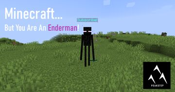 Minecraft but You Are An ENDERMAN Minecraft Data Pack