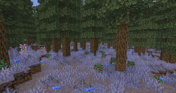 Bluebell Woods Biome (Updated Flower Forest) Minecraft Data Pack
