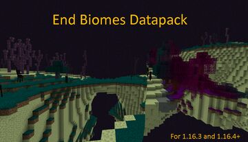 End Biomes and More Datapack Minecraft Data Pack