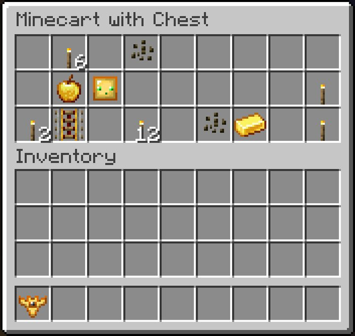 Mineshaft Minecart with Chest