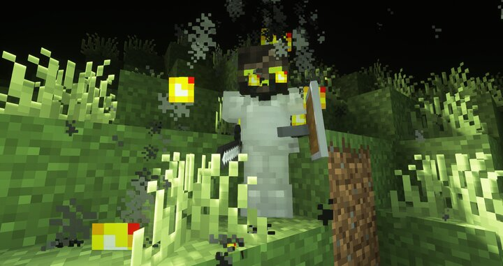 The Nameless OneNOT FROM MINECRAFT DUNGEON not this look now